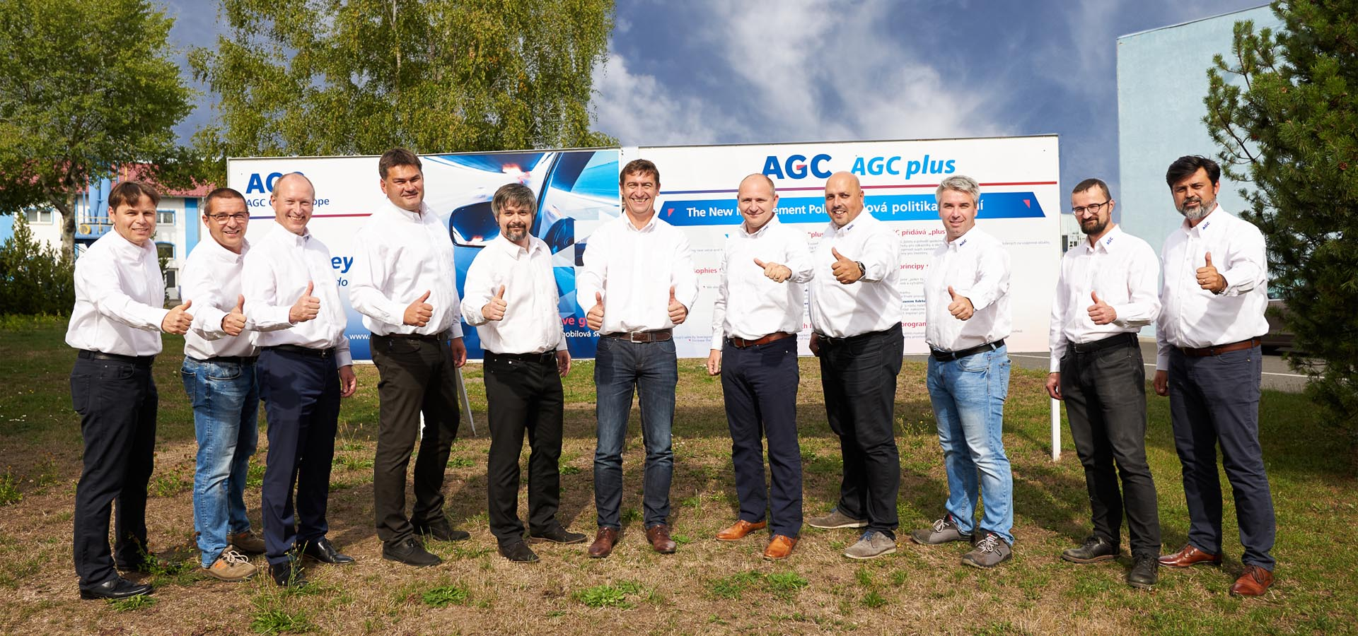management AGC automotive czech