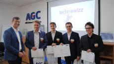 Aktualita AGC Automotive Czech - Vítězství v soutěži Technowizz si odvezli studenti z Jablonce